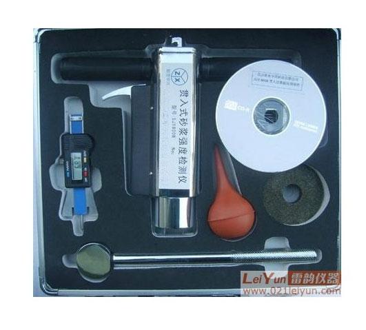 贯入法检测砂浆强度