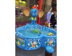 小象造型鱼池   钓鱼机