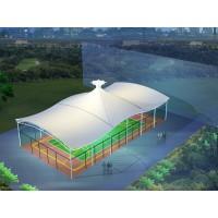 膜篷结构球场场馆