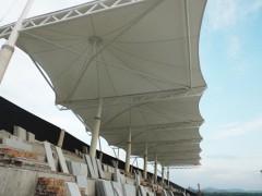 膜篷结构体育看台