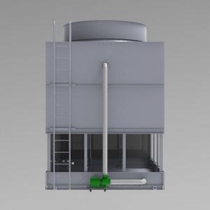 FNC-逆流閉式鈑金塔-等軸側